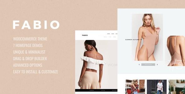 Fabio WooCommerce Shopping Theme 1