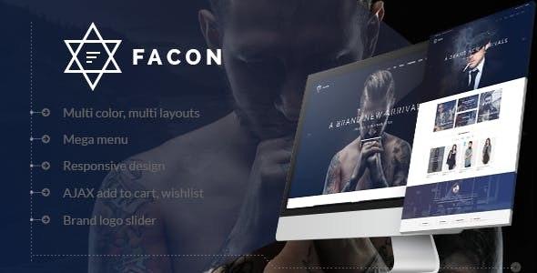 Facon - Fashion Responsive WordPress Theme 19
