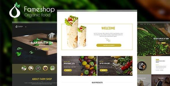 Fameshop - Organic, Bio WooCommerce WordPress Theme 1