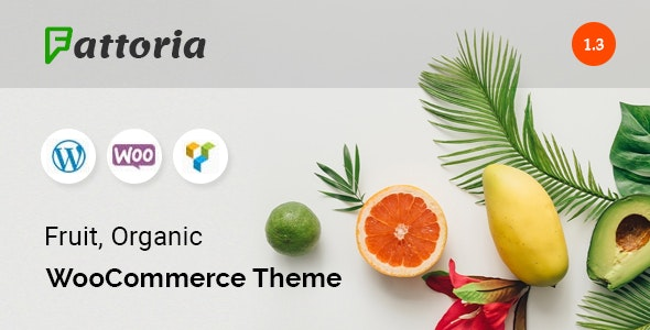 Fattoria - Organic Farm Natural Store WooCommerce Theme 1