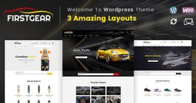 FirstGear - Multipurpose WooCommerce Theme 2