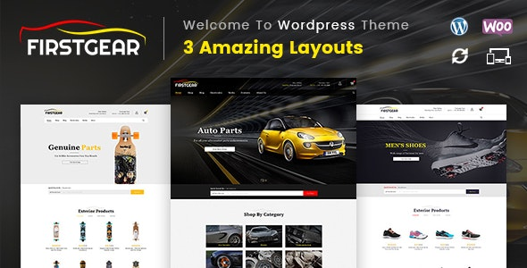 FirstGear - Multipurpose WooCommerce Theme 1