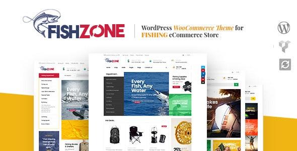 Fishzone Woocommerce WordPress Theme 1