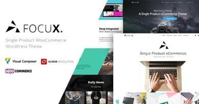 Focux - Multi-Purpose Single Product WooCommerce WordPress Theme 4