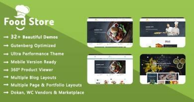Food Store | Organic & Restaurant WooCommerce WordPress Theme 69