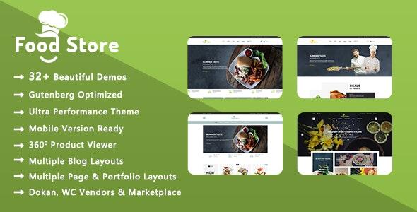 Food Store | Organic & Restaurant WooCommerce WordPress Theme 1