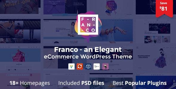 Franco - Elegant WooCommerce WordPress Theme 4
