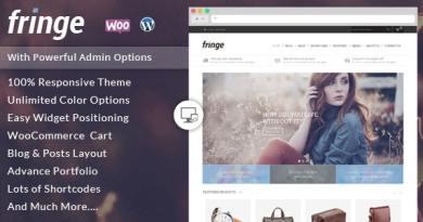 Fringe - WooCommerce Responsive Theme 4