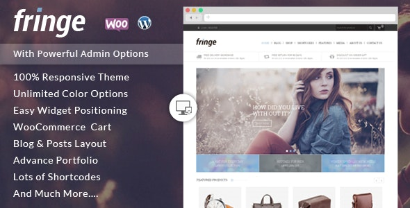 Fringe - WooCommerce Responsive Theme 3