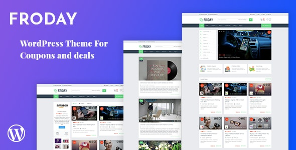 Froday – Coupons and Deals WordPress Theme 1
