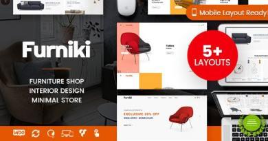 Furniki - Furniture Store & Interior Design WordPress WooCommerce Theme (Mobile Layout Ready) 3