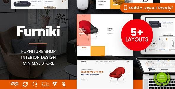 Furniki - Furniture Store & Interior Design WordPress WooCommerce Theme (Mobile Layout Ready) 7