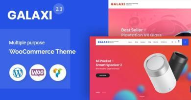 Galaxi - Tech WooCommerce WordPress Theme 4