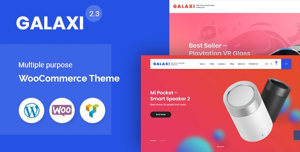 Galaxi - Tech WooCommerce WordPress Theme 1