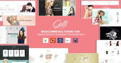Gelli - WooCommerce Theme for Jewelry / Perfume / Accessories / Handmade Store 2