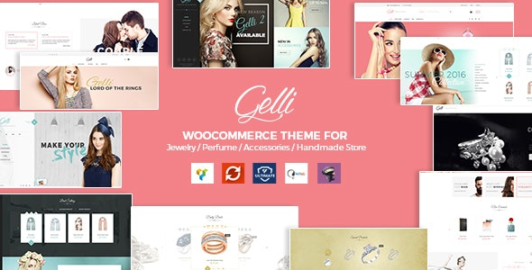 Gelli - WooCommerce Theme for Jewelry / Perfume / Accessories / Handmade Store 1