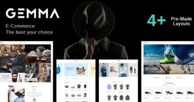 Gemma - Multipurpose WooCommerce WordPress Theme 4