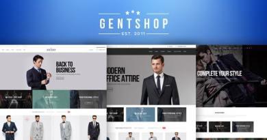 GentShop - LookBook WooCommerce WordPress Theme 2