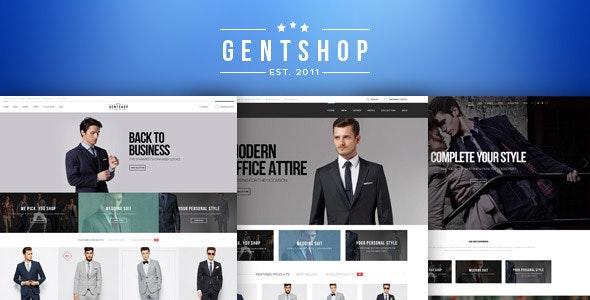 GentShop - LookBook WooCommerce WordPress Theme 5