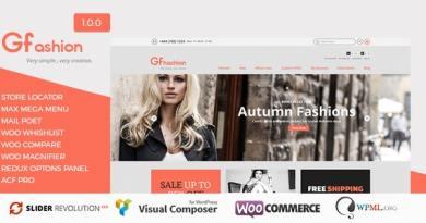 GFashion Woocommerce Store 3