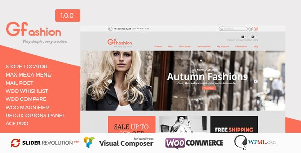 GFashion Woocommerce Store 5