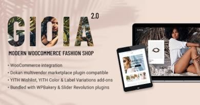Gioia - Modern Fashion Shop 4