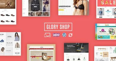 Glory Shop - Multipurpose WooCommerce Theme 3