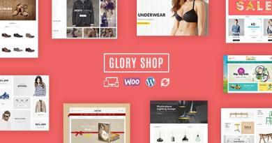 Glory Shop - Multipurpose WooCommerce Theme 4