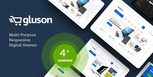 Gluson - Digital Theme for WooCommerce WordPress 19