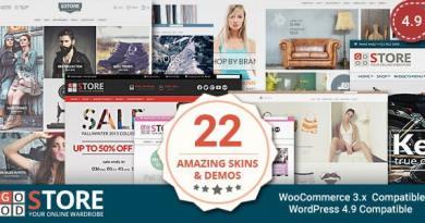 GoodStore - WooCommerce Theme 3