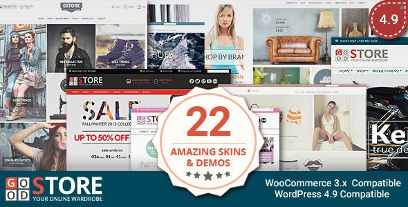 GoodStore - WooCommerce Theme 1