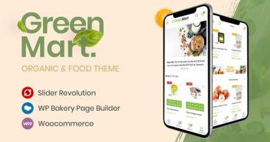 GreenMart – Organic & Food WooCommerce WordPress Theme 2