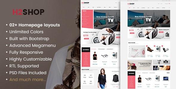 H2Shop - Responsive WooCommerce Shop WordPress Theme 1