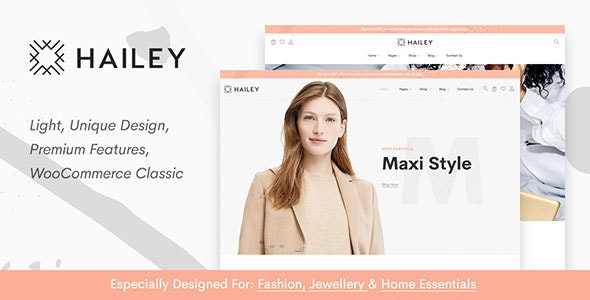 Hailey - Fashion Shop 1