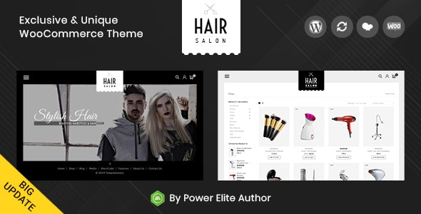 Hair Salon - WooCommerce Responsive Theme 9