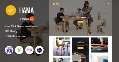 Hama - Store Furniture Home WooCommerce WordPress Theme 4