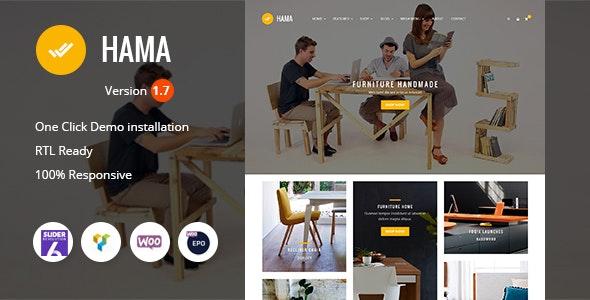Hama - Store Furniture Home WooCommerce WordPress Theme 1