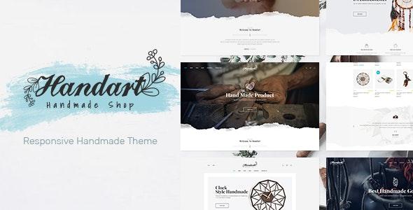 Handart - Handmade Theme for WooCommerce WordPress 1