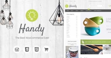 Handy - Handmade Shop WordPress WooCommerce Theme 30
