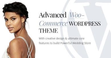 HappyTime - Wedding Woocommerce WordPress Theme 2