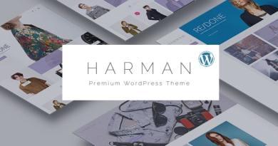Harman - Multi-Concepts WooCommerce WordPress Theme 3