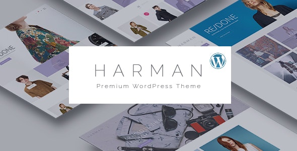 Harman - Multi-Concepts WooCommerce WordPress Theme 1