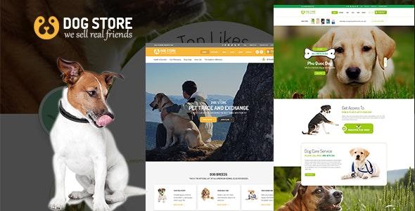 Haustiere - Pets Store RTL WooCommerce WordPress Theme 1