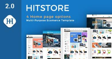 Hitstore - Electronics WooCommerce Theme 3