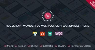 HugeShop - Wonderful Multi Concept WordPress Theme 2