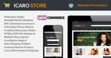 Icarostore - Responsive WooCommerce Theme 4
