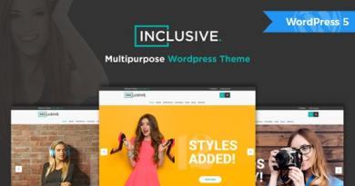 Inclusive - Multipurpose WooCommerce WordPress Theme 2