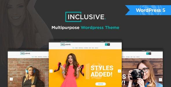 Inclusive - Multipurpose WooCommerce WordPress Theme 14