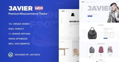 Javier - Modern WooCommerce Theme 4