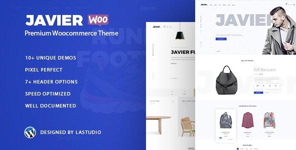 Javier - Modern WooCommerce Theme 1